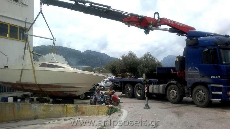 ανέλκυση - καθέλκυση σκάφους