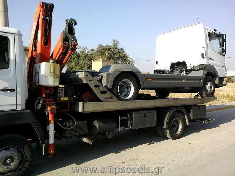 Ανύψωση και Μεταφορά φορτηγού