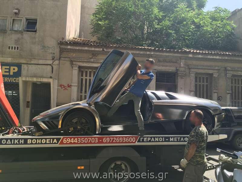 Μεταφορά αγωνιστικού αυτοκινήτου (1)