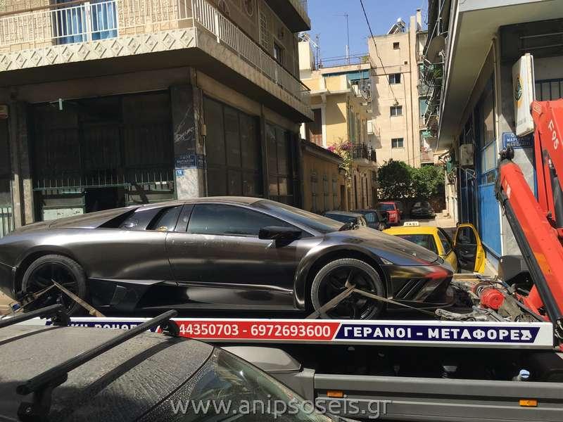 Μεταφορά αγωνιστικού αυτοκινήτου (2)