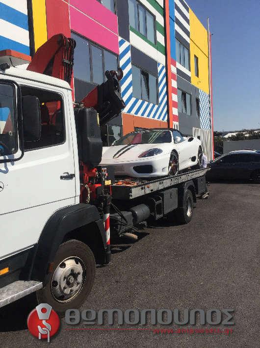 Εξωτερικός μηχανισμός δεσίματος οδικής βοήθειας, για προστασία από χτυπήματα