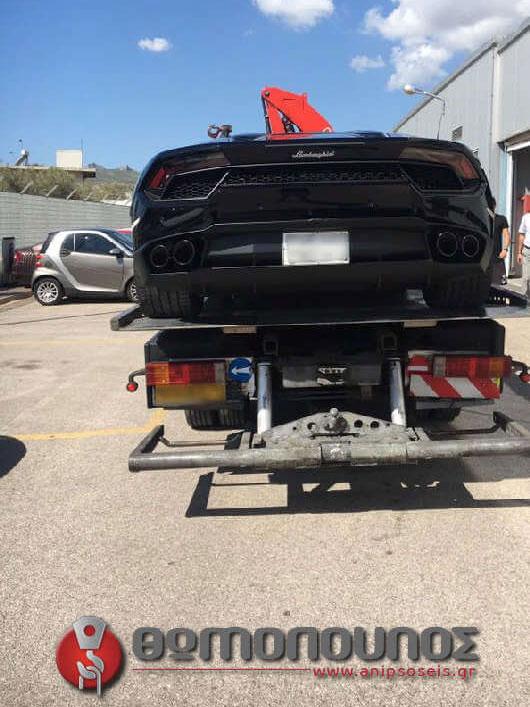 Οδική Βοήθεια σπορ αυτοκινήτου χωρίς την χρήση ιμάντα