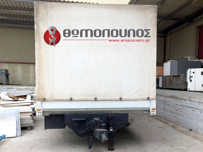 γερανοφόρα οχήματα με χρήση ρυμούλκας jubo για τις μεταφορές μεγάλου όγκου
