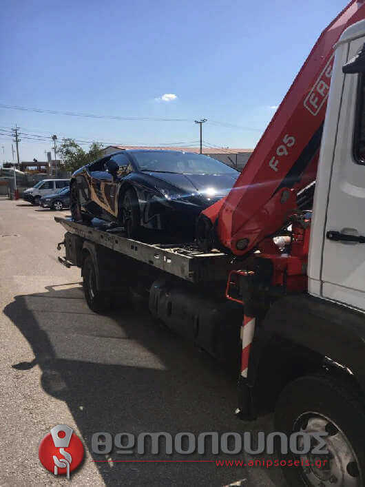 οδική βοήθεια για ανέλκυση και ρυμούλκηση οχήματος με δέσιμο χωρίς ιμάντες