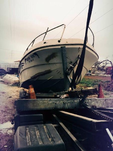 Ανύψωση & μεταφορά βάρκας